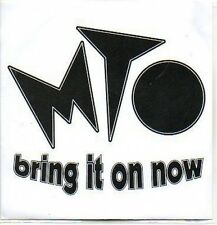 (P800) MTO, Bring It On Now - DJ CD