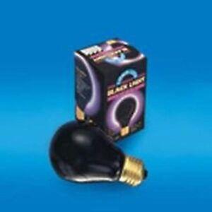 new BLACK LIGHT BULB 75 W glow halloween items supplies GLOWING IN THE DARK