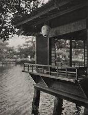 1929 JAPAN Original Photo Gravure KANAZAWA ARCHITECTURE Design Asian Art, GRAEFE