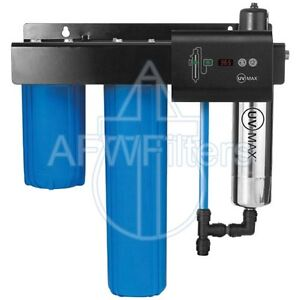 New Trojan UV Max IHS12-D4 Integrated Home Ultraviolet UV Water Filter - 10 GPM
