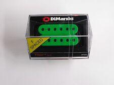 DiMarzio F-spaced Titan Neck Model Humbucker Green W/Black Poles DP 258