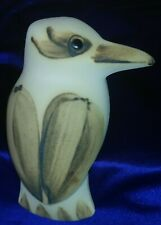 Vintage Interesting Kookaburra Shelf- Sitter By Kangaroo Valley Pottery