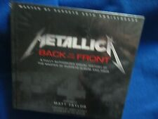 ~~ METALLICA BACK TO THE FRONT MASTER OF PUPPETS 30TH ANNIVERSARY HARDCOVER ~~