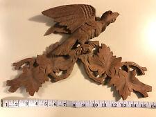 Vintage Pediment / Carved Wood Decoration - American Eagle - Folk Art - Awesome