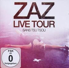 ZAZ-Live Tour-Sans Tsu Tsou - (CD + DVD) (CD nuevo!) 886979761421