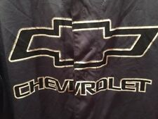 CHEVY STRONG 11 Chevrolet Unisex Gray Button Front Baseball Jersey L GM Official