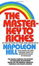 Master-Key to Riches Mass Market Paperbound Napoleon Hill