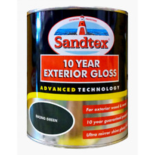 Sandtex Paint 750ml - 10 Year Exterior Gloss - Wood & Metal - 13 Colours - Paint