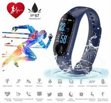 M3 Color Screen Smart Bracelet Fitness Tracker Step Counter Waterproof Sports Wr