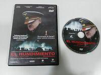 El Hundimiento Downfall DVD Español German Audio Oviler Hirschbiegel