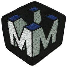 "Fringe Massive Dynamics Logo Embroidered Iron-on patch 3.5"""