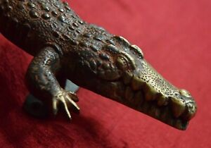 Alligator Design Decorative Handle Handmade Brass Home Gate Puller Furnish VR421