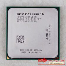 AMD Phenom II X4 965 HDZ965FBK4DGM CPU 3.4/6M/2000 Socket AM3 100% work free sp