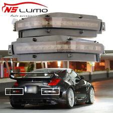 4-in-1 Stoßstange Blinker Bremslicht LED DRL für Nissan 350Z Z33 Rauch 2003-2009