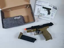 New listing Walther PPQ GBB Tac SD Navy Airsoft GBB Pistol by Umarex Elite Force