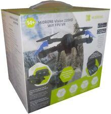 MIDRONE VISION 220HD WiFi FPV DRONE QUADCOPTER iOS ANDROID VR GOGGLES 100m range