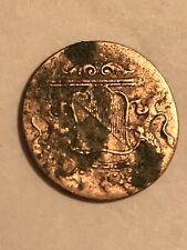 1791 New York Penny Dutch East Indies 1 Duit Antique Colonial Copper VOC Coin