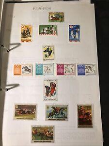 14 Stamps Of Rwanda 1959 To 1970