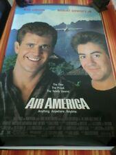 Air America (1990) Original Movie Poster New Single Sided Gibson Downey