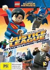 LEGO - Justice League - Attack Of The Legion Of Doom ( DVD )