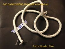 """40 FEET 3/8"""" STOVE SEAL TAPE FIRE ROPE 3/8  GASKET WOOD STOVE Adhesive Backed."""