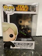 Luke Skywalker JEDI 11 Funko Pop VAULTED Star Wars Green Lightsaber W/ Protector