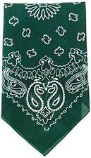 Écharpes bandanas verts pour homme