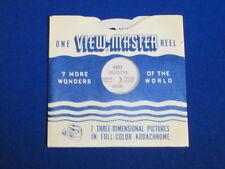 1952 VINTAGE CALCUTTA INDIA VIEW-MASTER REEL & SLEEVE #4305