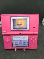 Nintendo DSi Pink No Stylus Tested, No Charger