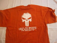 US SEAL TEAM 3 the devil of ramadi AMERICAN SNIPER T SHIRT DEVGRU NSW m MEDIUM