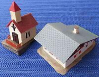 Faller 287 Ferme et Chapelle