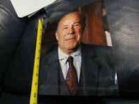 George P Shultz autographed photo Secretary of State Reagan and Nixon 1a DAMAGE