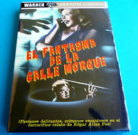 EL FANTASMA DE LA CALLE MORGUE Phantom of the Rue Morgue DVD R2 - Precintada