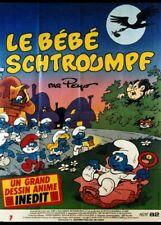 affiche du film BEBE SCHTROUMPF (LE) 120x160 cm