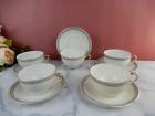 "Vintage KPM Germany ""The Emden"" Porcelain Cups and Saucers"