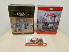 2x ANZAC Biscuit Limted edition tins empty