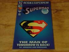Superman Reign Of The Supermen #78 June 1993 DC Comics