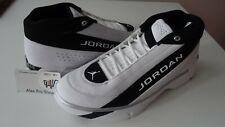 Men's Sz 9.5 Jordan Team Showcase Basketball shoes White/White-Black CD4150 100