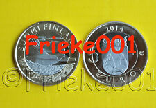 Finland - Finlande - 5 euro 2014 unc.(Karelia Cuckoo)