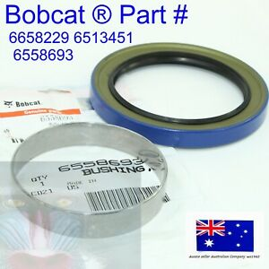 Axle Seal & Wear Ring for Bobcat 6658229 6513451 6558693 S220 S250 S300 S330 843