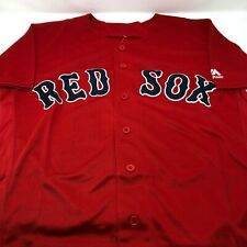 Roger Clemens Boston Red Sox Replica Throwback Stitched Jersey Mens Size Small