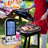 Wireless LCD Remote Thermometer Read BBQ Grill Meat Kitchen Oven Food Cooking
