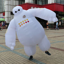 Big Hero Baymax Adult Mascot Costume Inflatable Fancy Dress Cosplay Outfit 78''