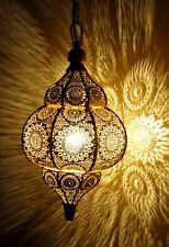 Modern Hanging Lamps Gold Moroccan Ceiling Light Home Decor Lantern Lamp