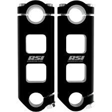 "RSI Pivoting Handlebar Risers 3"" Inch Snowmobile 7/8"" 1-1/8"""