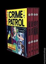 EC COMICS JAN 1993 EDITION WAR AGAINST CRIME, CRIME PATROL 4 HC SLIPCASE NEW