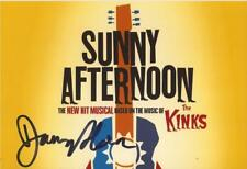 SUNNY AFTERNOON* DANNY HORN SIGNED 6x4 PHOTO+COA *THE KINKS*