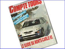 Magazine Compte Tours Numéro 57 - Janvier 1995