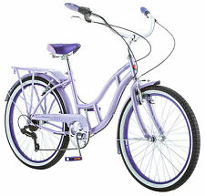 "24"" Schwinn Girl's Riverside Cruiser Bike, Purple"