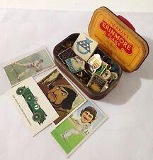 Erinmore Flake Tobacco Tin Cigarette Cards Mixed Pin Badge Lot Vintage (B49)